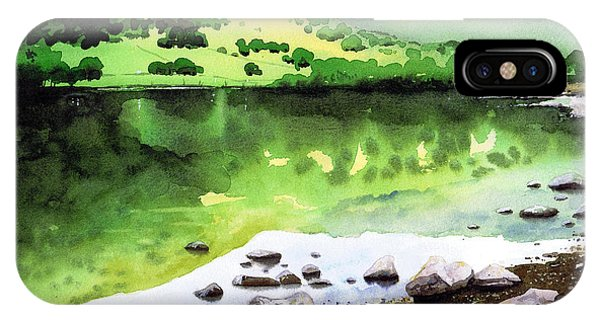 iPhone Case - Rydal Water Reflections by Paul Dene Marlor
