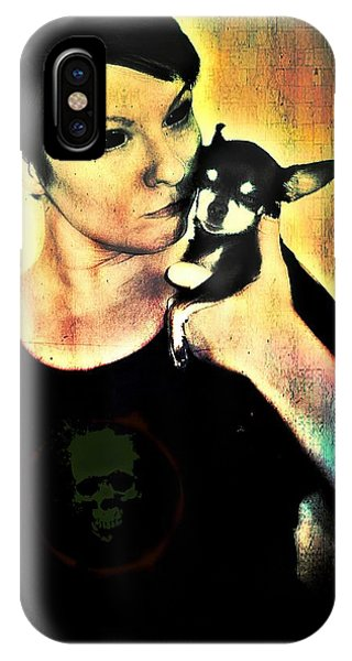 Ryli And Chi-chi 1 IPhone Case