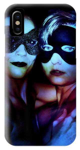 IPhone Case featuring the digital art Ryli And Corinne 4 by Mark Baranowski