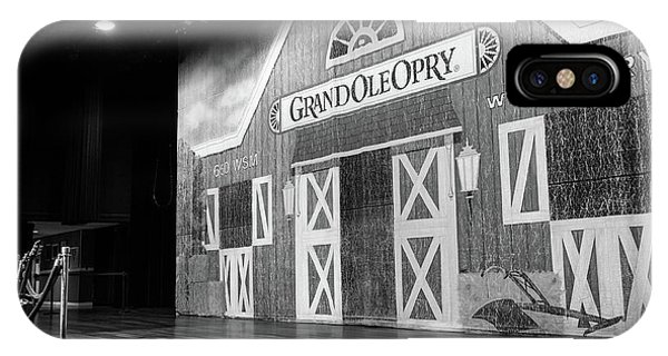 Ryman Opry Stage IPhone Case