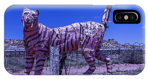 Timeworn iPhone Case - Saber-tooth Cat by Garry Gay