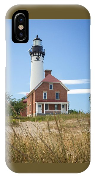 Sable Point Lighthouse IPhone Case