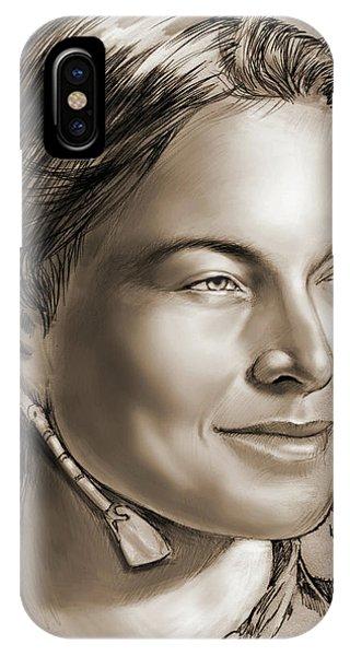 Sacagawea 2 IPhone Case