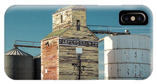 Saco Grain Elevator IPhone Case