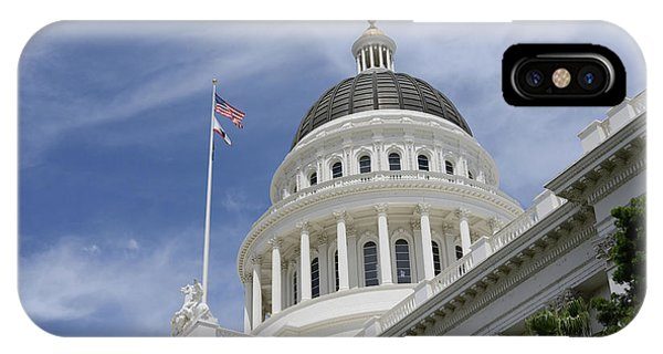 Sacramento Capitol Building IPhone Case