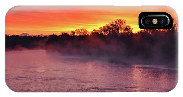 Sacramento River Sunrise IPhone Case