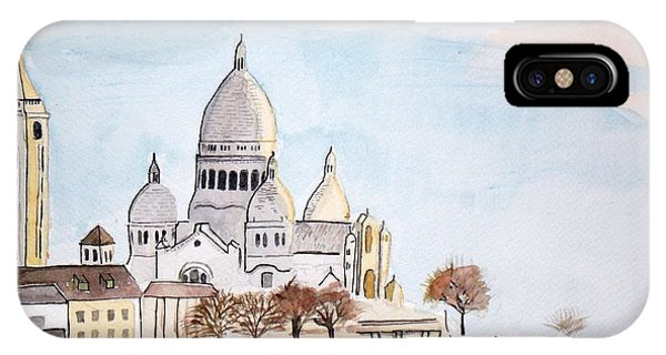 Sacre Coeur IPhone Case