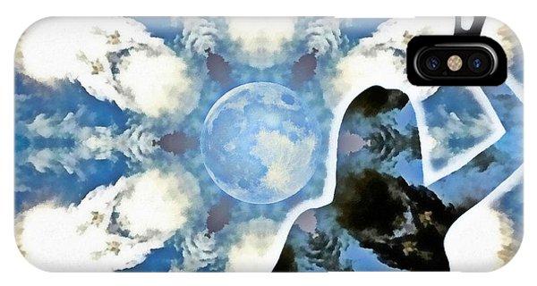 iPhone Case - Sacred Feminine Eclipse by Derek Gedney