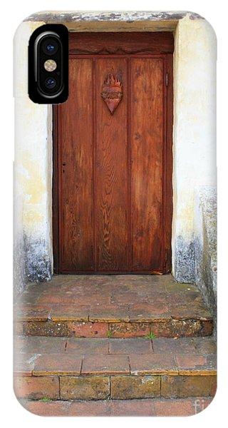 Sacred Heart Door IPhone Case