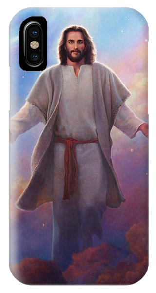 Red Sky iPhone X Case - Sacred Space by Greg Olsen
