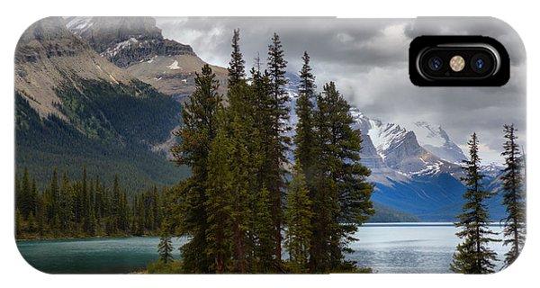 Rocky Mountain Np iPhone Case - Sacred Spirit Island by Adam Jewell