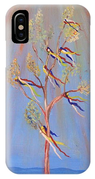 Sacred Sun Dance Tree IPhone Case