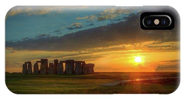Sacred Sunset IPhone Case