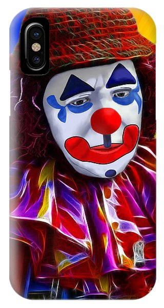 Sad Clown IPhone Case
