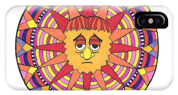 Sad Sunny IPhone Case