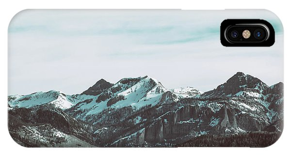 IPhone Case featuring the photograph Saddle Mountain Morning by Jason Coward