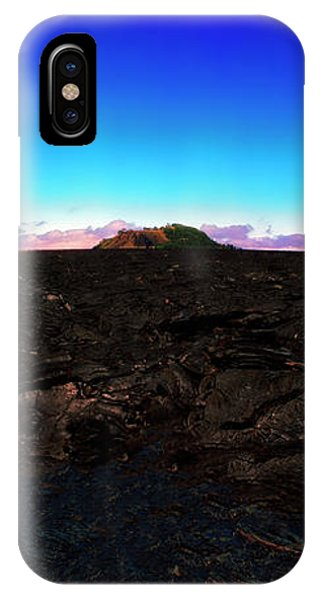 Saddle Road Humuula Lava Field Big Island Hawaii  IPhone Case
