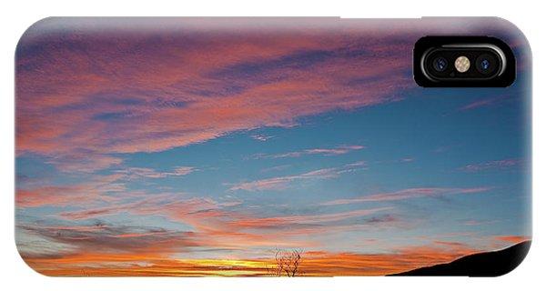 Saddle Road Sunset IPhone Case