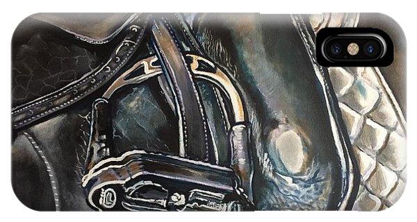 Saddle Study IPhone Case