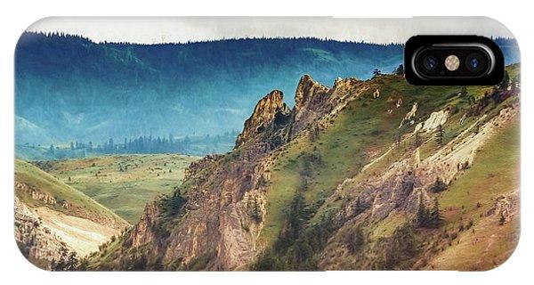 Saddlerock Mountain IPhone Case