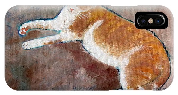 Saddle Tramp- Ranch Kitty IPhone Case
