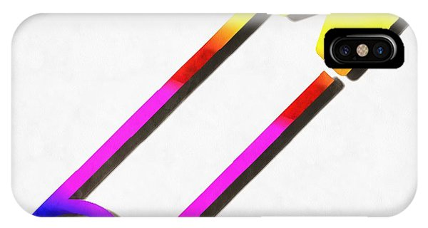 Lgbt iPhone Case - Safety Pin Rainbow Painting by Edward Fielding