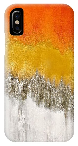 Saffron Sunrise IPhone Case