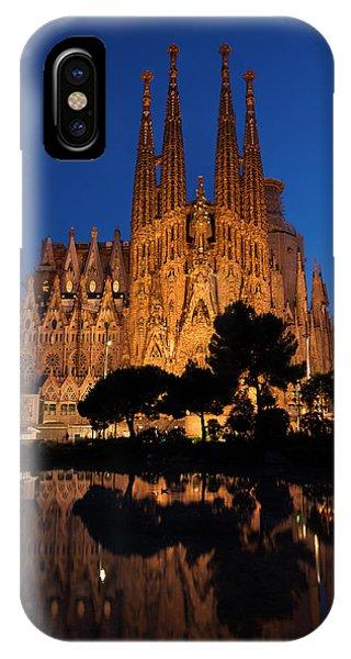 Sagrada Familia Cathedral In Barcelona IPhone Case
