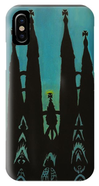Sagrada Shadows IPhone Case