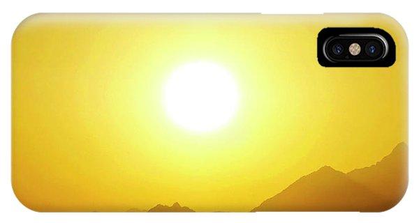 Sahara Sunset 2 IPhone Case