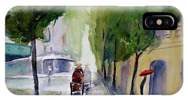 Saigon 1967 Tu Do Street IPhone Case