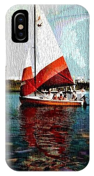 Sail Along On The Sea IPhone Case