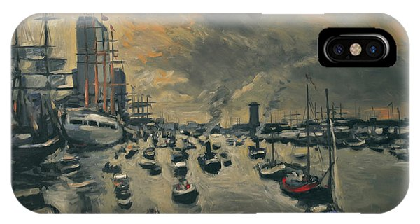 Briex iPhone Case - Sail Amsterdam 2015 by Nop Briex