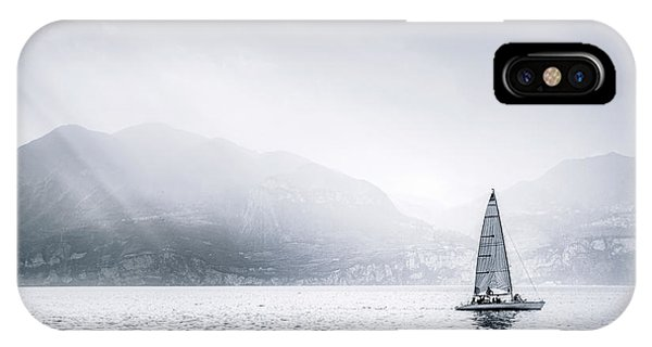 Mono iPhone Case - Sail Away by Evelina Kremsdorf