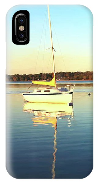 Cape Cod iPhone Case - Sail Boat  by Paul Tagliamonte