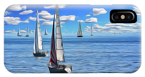 iPhone Case - Sail Day by Harry Warrick