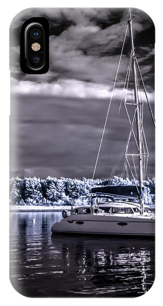 Sailboat 02 IPhone Case