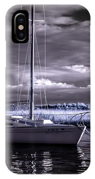 Sailboat 03 IPhone Case