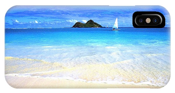 Sailboat And Islands IPhone Case