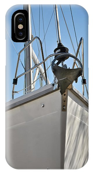 Sailboat Bow 3 IPhone Case