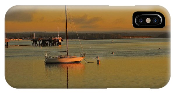 Sailboat Glow IPhone Case