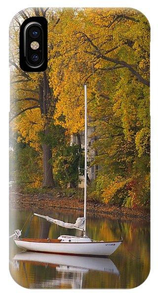 Sailboat In Alburg Vermont  IPhone Case
