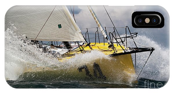 Sailboat Le Pingouin Open 60 Charging  IPhone Case