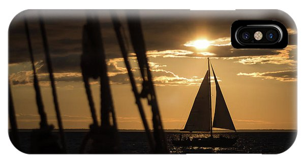 Sailboat On The Horizon IPhone Case