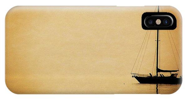 Sailboat Silhouette IPhone Case