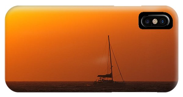 IPhone Case featuring the photograph Sailboat Waiting by Jeremy Hayden