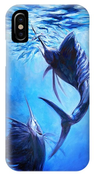 Sailfish And Ballyhoo IPhone Case