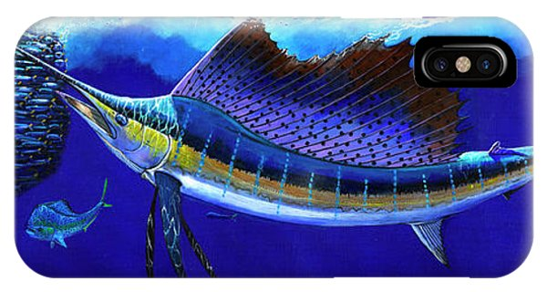 iPhone Case - Sailfish Commotion by Carey Chen