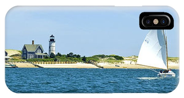 Sailing Around Barnstable Harbor IPhone Case