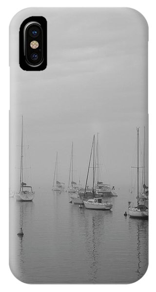 Sailing Bw IPhone Case